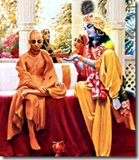 [Krishna with Sudama]