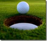 [playing golf]