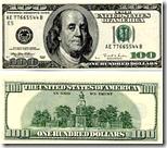 [one hundred dollar bill]