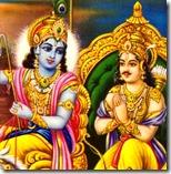 [Krishna speaking to Arjuna]
