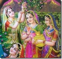 [gopis of Vrindavana]