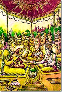 [Sita-Rama marriage sacrifice]