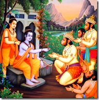 [Rama and Lakshmana with the Vanaras]