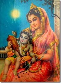 [Rama with mother Kausalya]