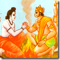 [Rama and Sugriva friendship]