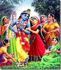 [Krishna with the gopis]