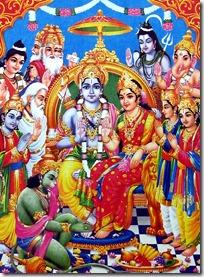 [Rama and Lakshmana with demigods]