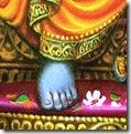 [Rama's lotus foot]