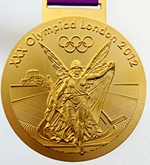 [Olympic gold medal]