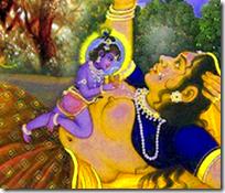 [Krishna and Putana]