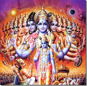 Five Reasons The Universal Form Is Not So Important – Krishna's Mercy