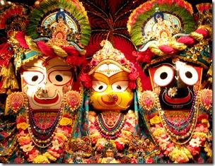 [Jagannatha deities]