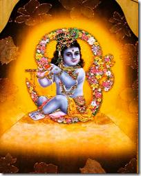 [Krishna altar]