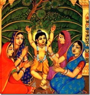 [Chaitanya child]