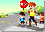 [crossing the street]