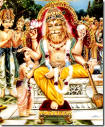 narasimha with prahlada