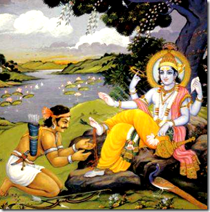 [Krishna and Jara]