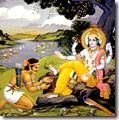 [Krishna and Jara]