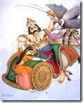 [Jatayu fighting Ravana]