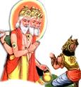 [Hiranyakashipu praying to Brahma]