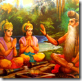[Rama and Lakshmana with Vishvamitra]
