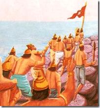[Vanara army]
