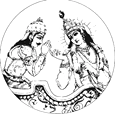 [Krishna and Arjuna]