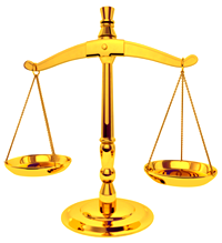 [scales of justice]