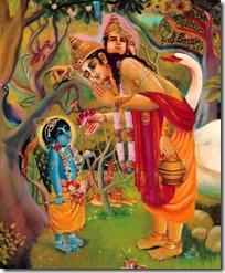 [Krishna and Brahma]