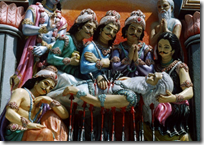 [Pandavas with Bhishma]