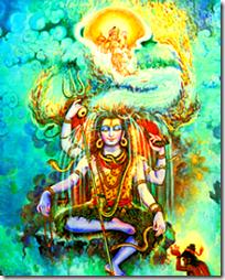 [Ganga Devi coming to earth]