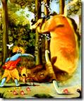[Krishna and Arishtasura]