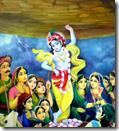 [Krishna lifting hill]