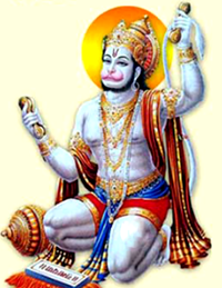 [Hanuman chanting]