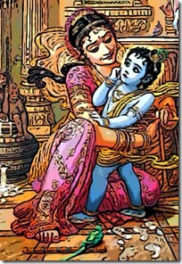 [Mother Yashoda with Damodara]