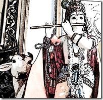 [Krishna with cow]