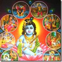 [Krishna lila]