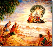[Worshiping Vishnu]