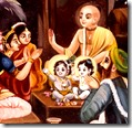 [Krishna name giving ceremony]