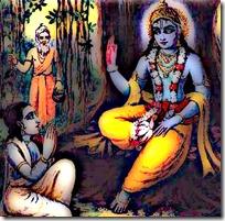 [Krishna and Uddhava]
