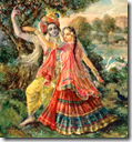 [Krishna and Satyabhama]