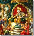 [Krishna with Syamantaka jewel]