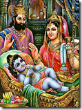 [Rama with parents]