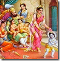 [Shri Rama with family]