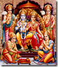 [Shri Rama with brothers]