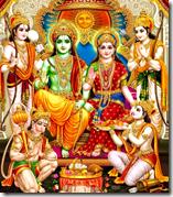 [Shri Rama with brothers]