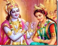 [Krishna and Rukmini]