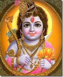 [Shri Rama child]