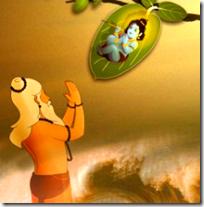 [Markandeya with Narayana]