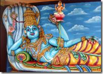 [Vishnu lying down]